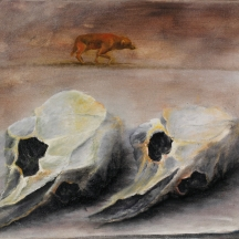 31Coyote, 2012, OIL ON CANVAS, 10 x 12 INCHES
