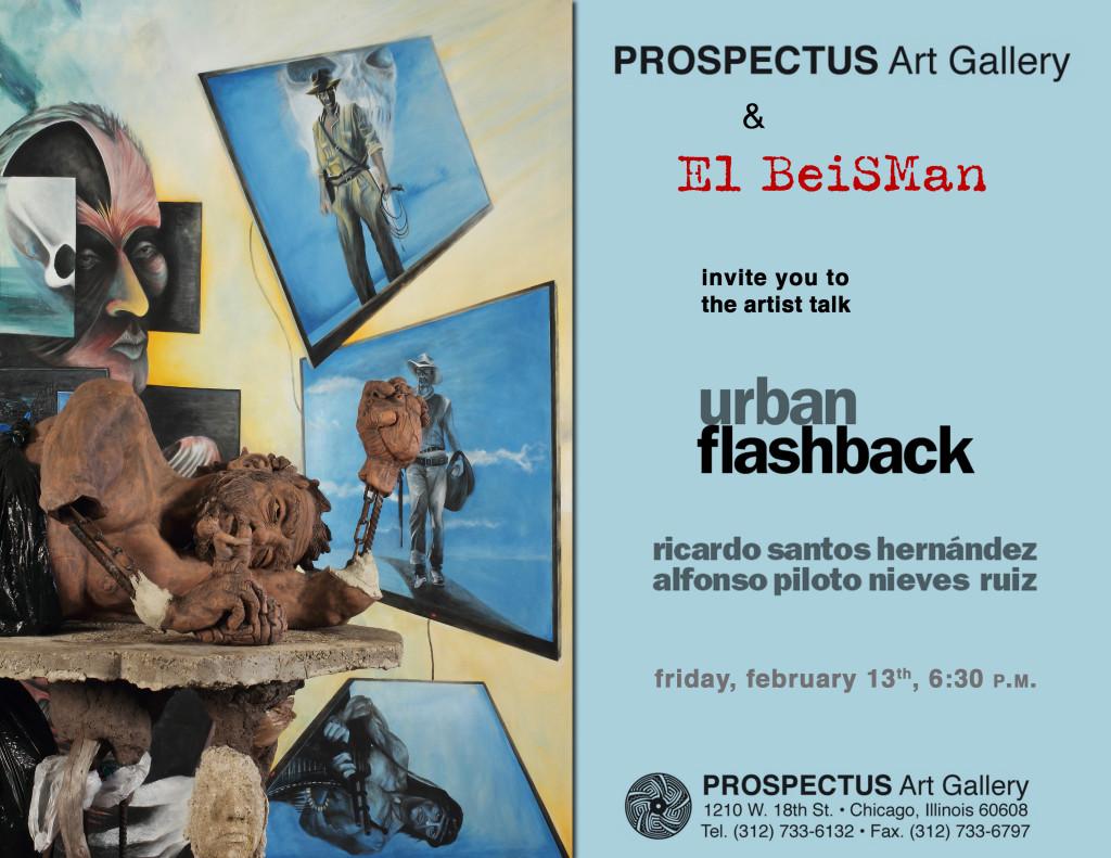 Prospectus Art Gallery El Beisman Urban Flashback Artist Talk